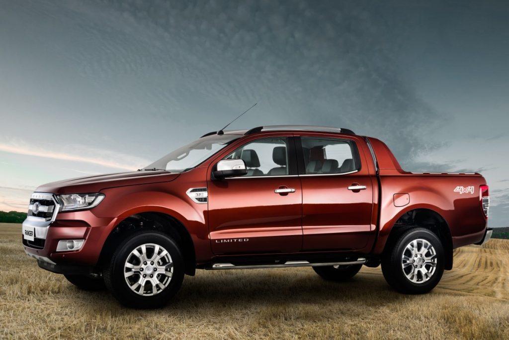 Ford Ranger Limited 2017 - Ficha técnica
