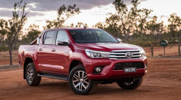 Nova Toyota Hilux 2017 - Ficha técnica