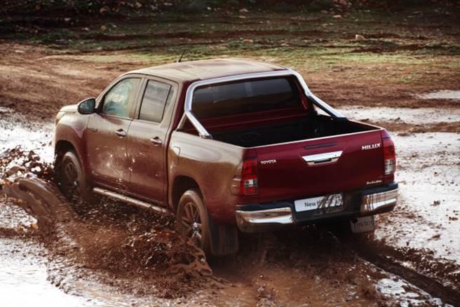 Nova Toyota Hilux 2017 - Consumo