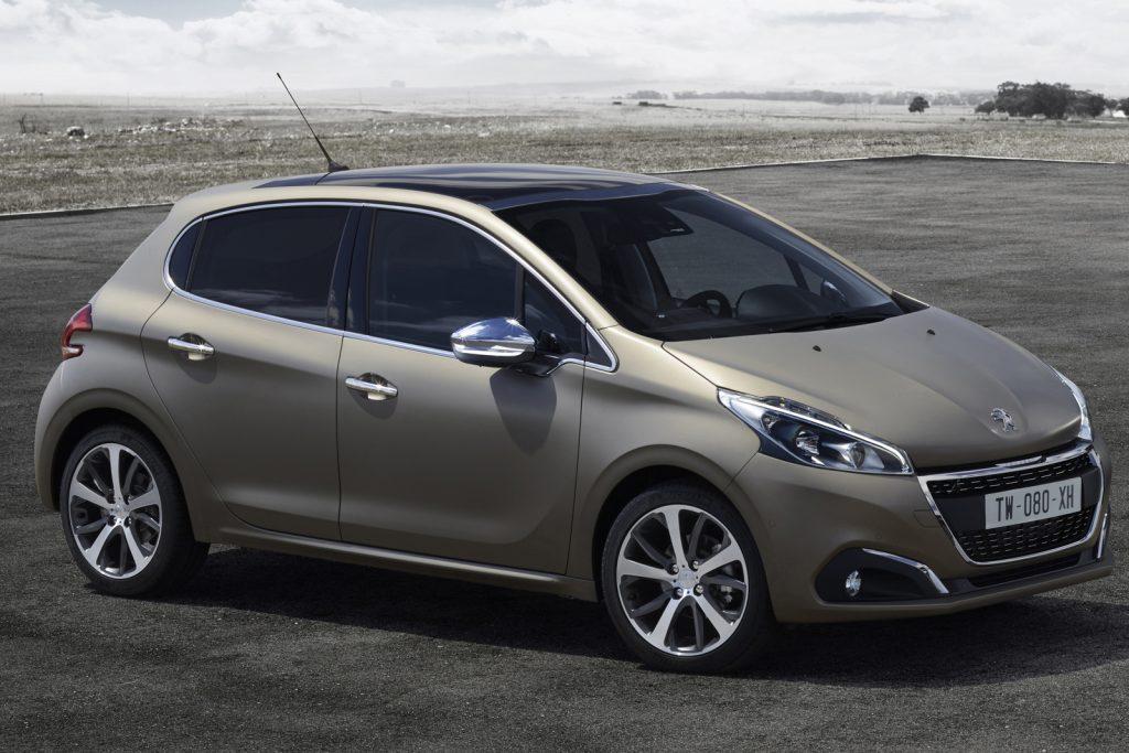 Novo Peugeot 208 2017 - Ficha Técnica