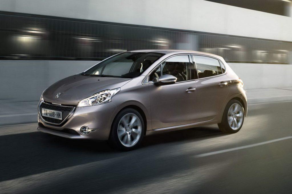 Novo Peugeot 208 2017 - Consumo