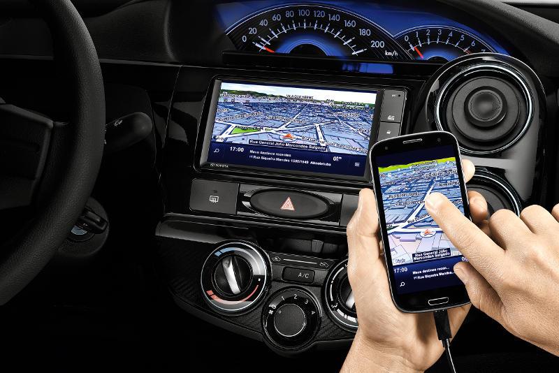 Novo Toyota Etios 2017 - painel