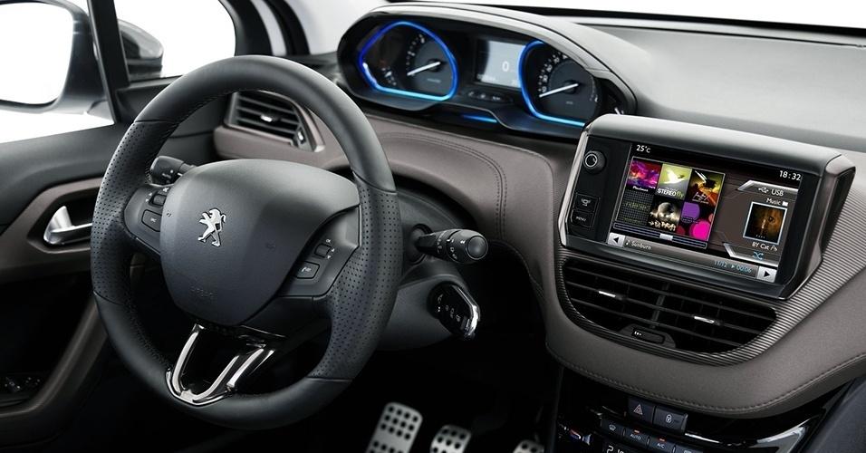 Novo Peugeot 2008 2017 - painel