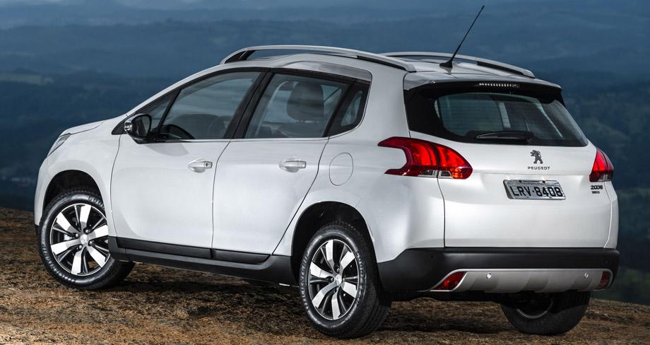 Novo Peugeot 2008 2017 - traseira