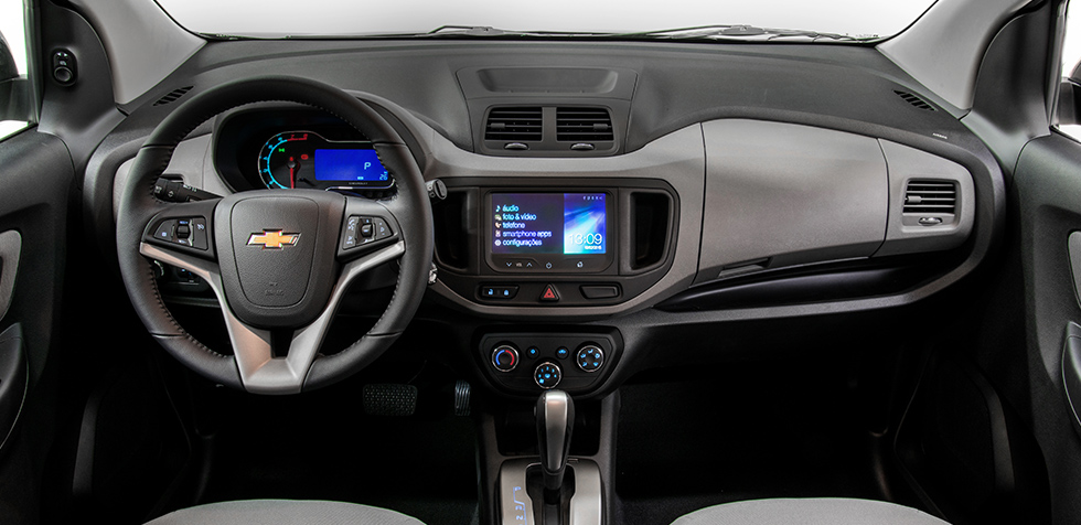 Nova Chevrolet Spin 2017 - Interior