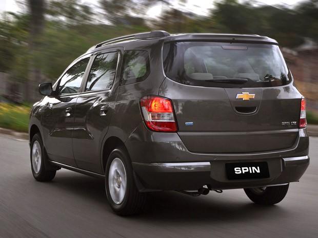 Nova Chevrolet Spin 2017 - Traseira
