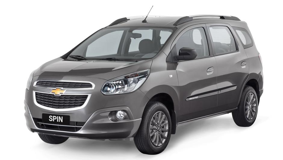 Nova Chevrolet Spin 2017 - Preço