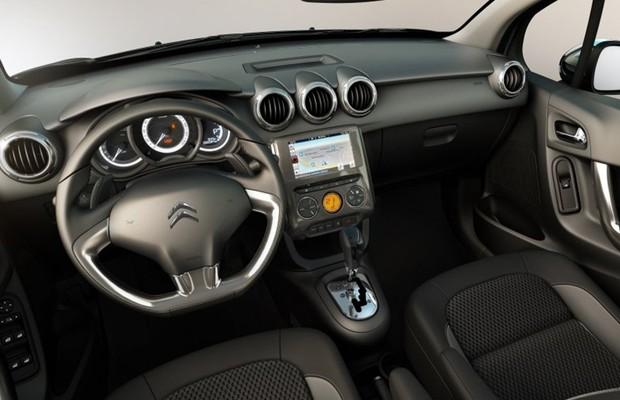 Novo Citroen c3 2017 - Interior