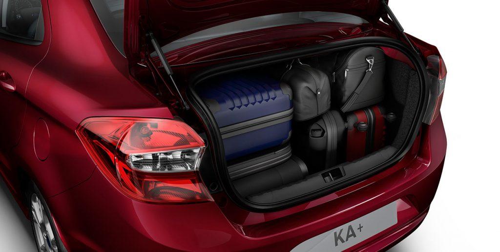 Novo Ford Ka Sedan 2017 - Porta malas