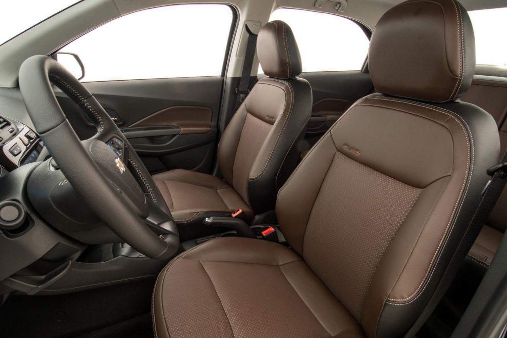 Chevrolet Cobalt LTZ 2017 bancos de couro