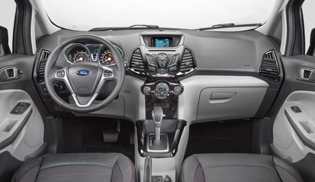 Ford Ecosport 2017 Titanium - interior