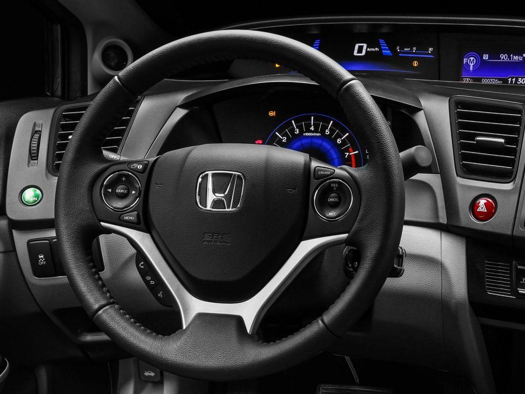 Novo Honda Civic LXR 2017 - painel