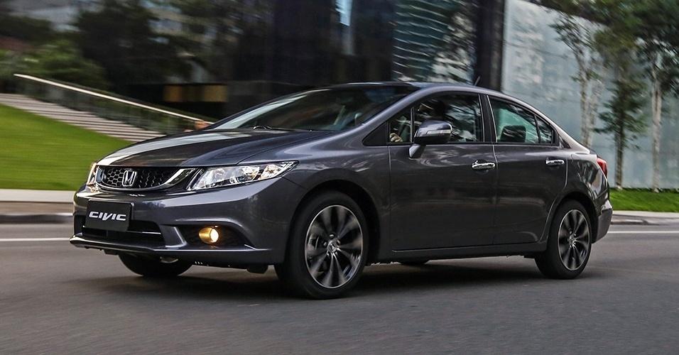 Honda Civic LXR 2017 - Ficha Técnica