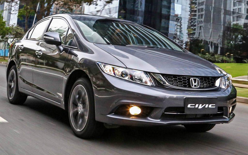 Honda Civic LXR 2017 - Consumo