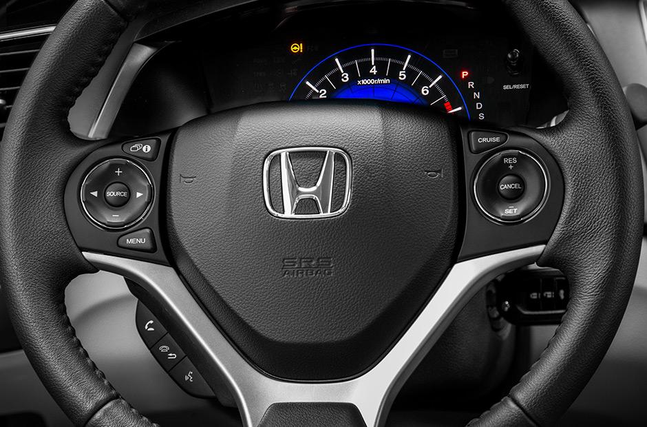 Novo Honda Civic LXR 2017 - Volante