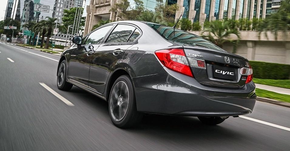 Novo Honda Civic LXR 2017 - traseira