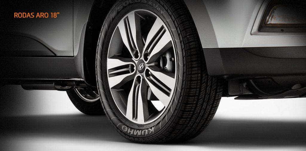 Hyundai Ix35 2017 - rodas de liga leve