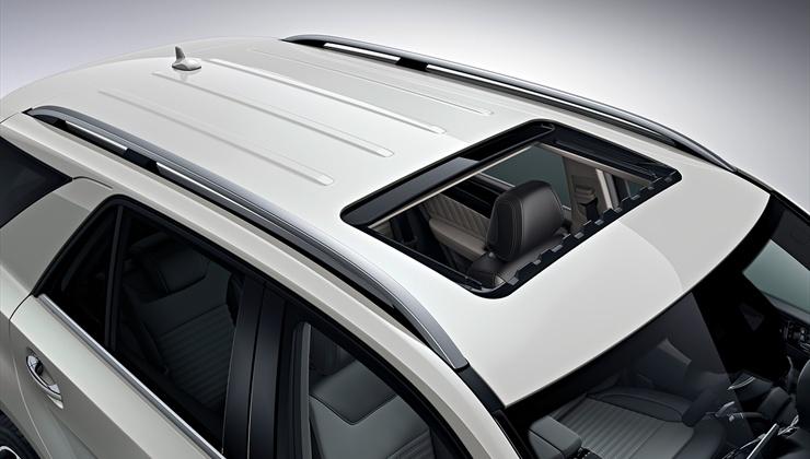 Mercedes GLE 350 2017 - teto solar