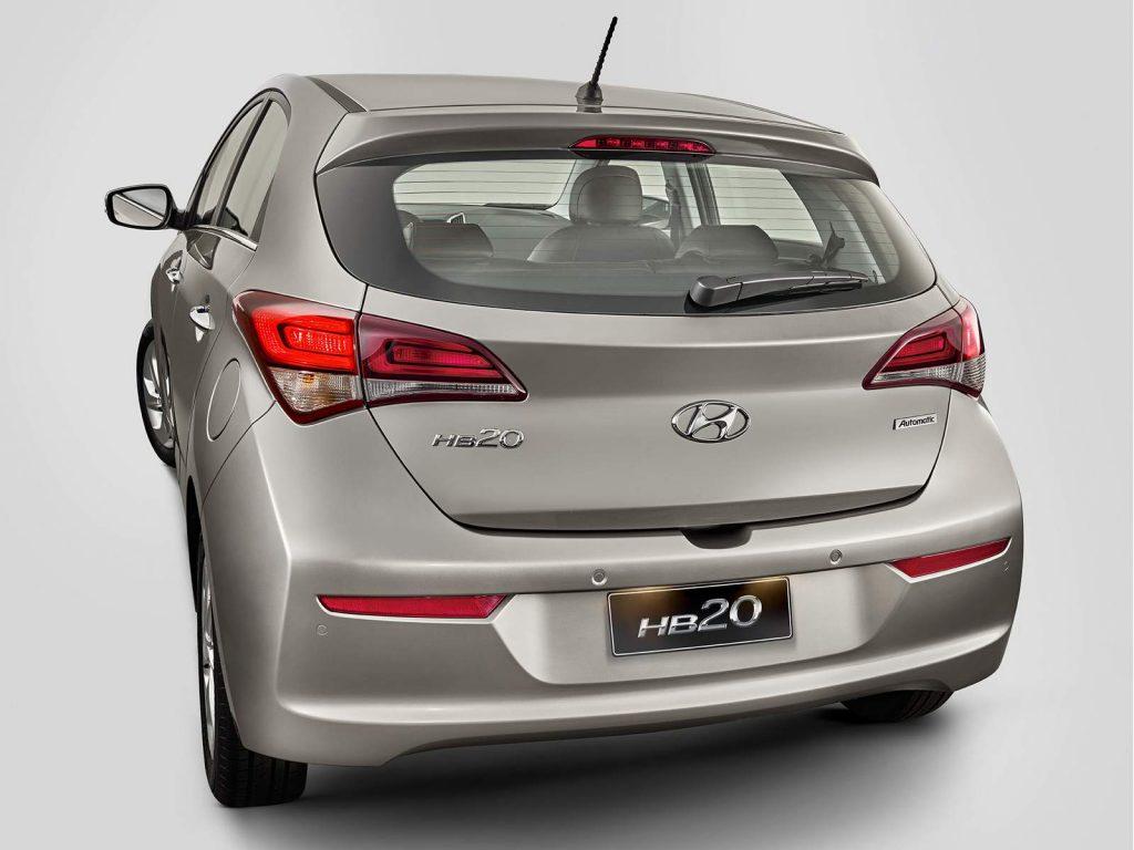Hyundai Hb20 2017 - lançamento