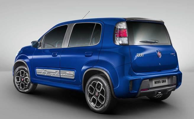 Fiat Uno 2017 Sporting - Automático