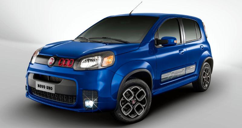 Fiat Uno 2017 Sporting- Completo