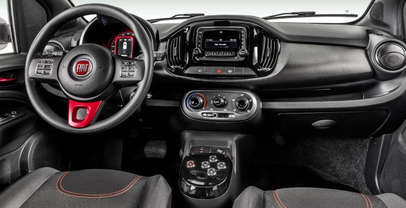 Fiat Uno 2017 Sporting - Interior