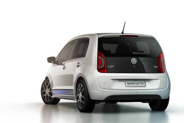 Volkswagen Up 2017 TSI Traseira