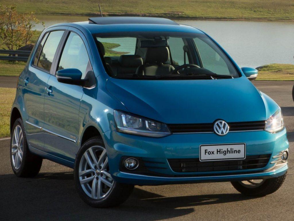 Volkswagen Fox Highline 2017 - Preço