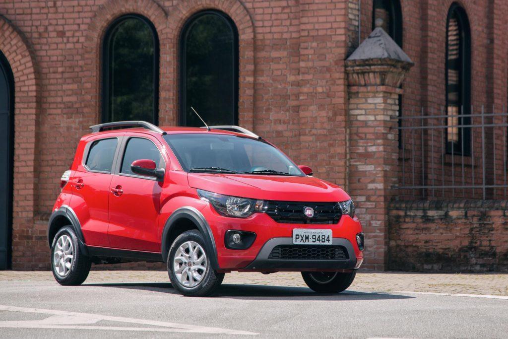 Fiat Mobi 2017 Way On - Motor