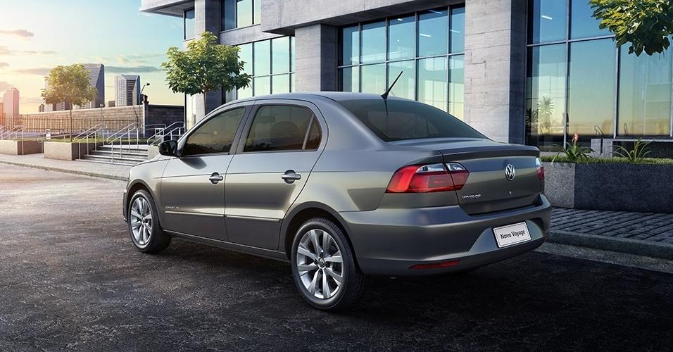 Volkswagen Voyage Highline 2017 - itens de série