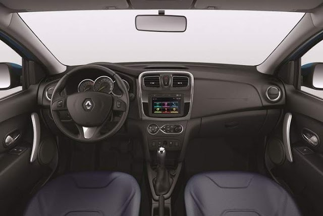 Renault Logan 1.6 2017 - Interior