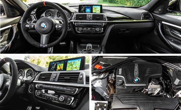 Nova BMW 328i 2017 - Interior