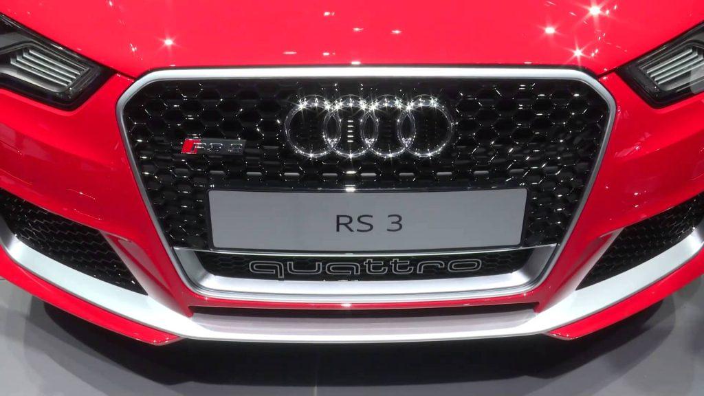 Novo Audi RS3 Sportback 2017 - Consumo