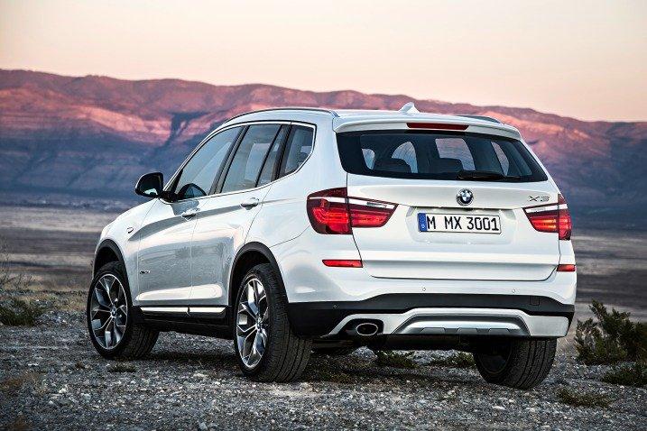 BMW X3 2017 - Ficha Técnica