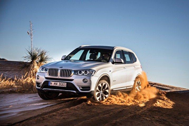 BMW X3 2017 - Manutenção