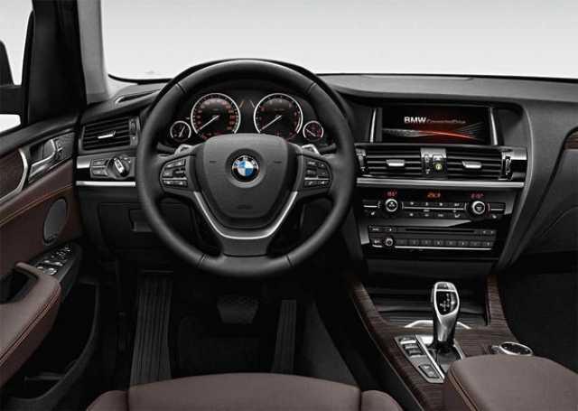 BMW X3 2017 - painel