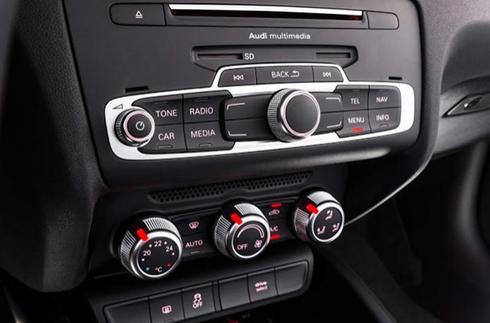 Novo Audi A1 2017 - itens de série