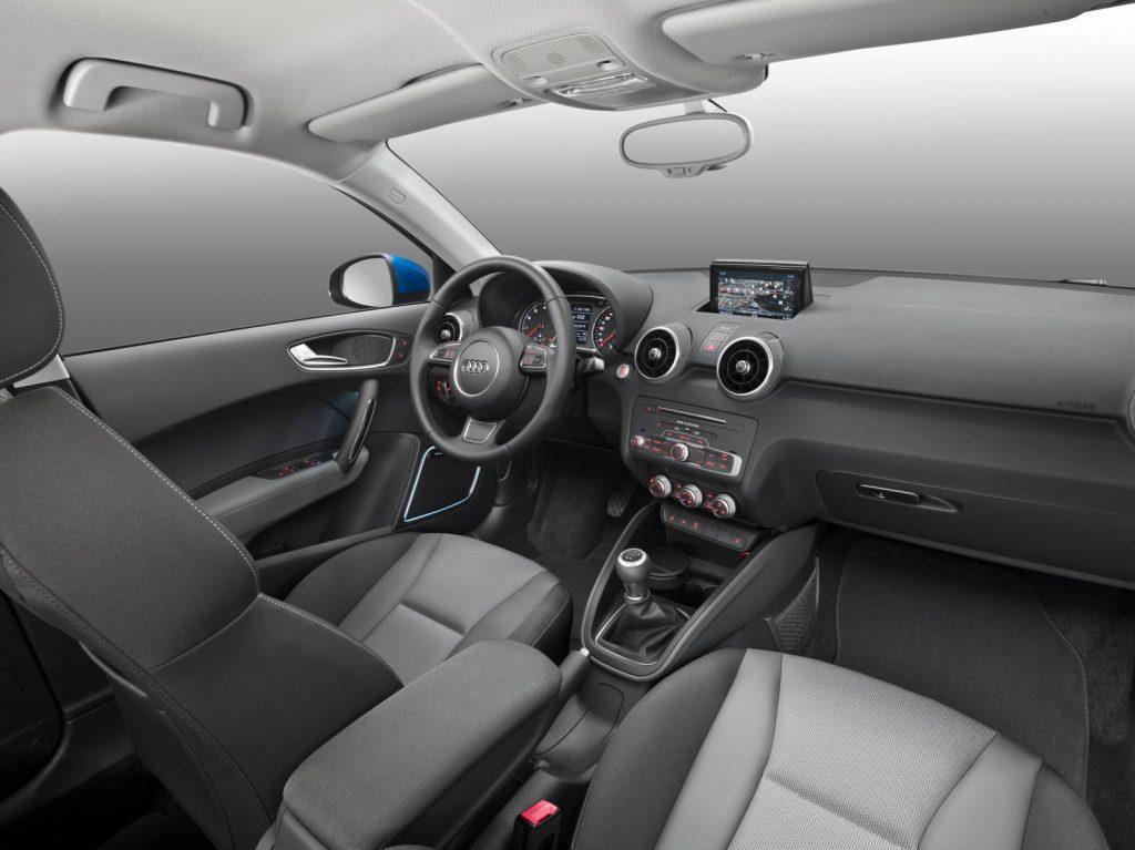 Novo Audi A1 2017 - interior