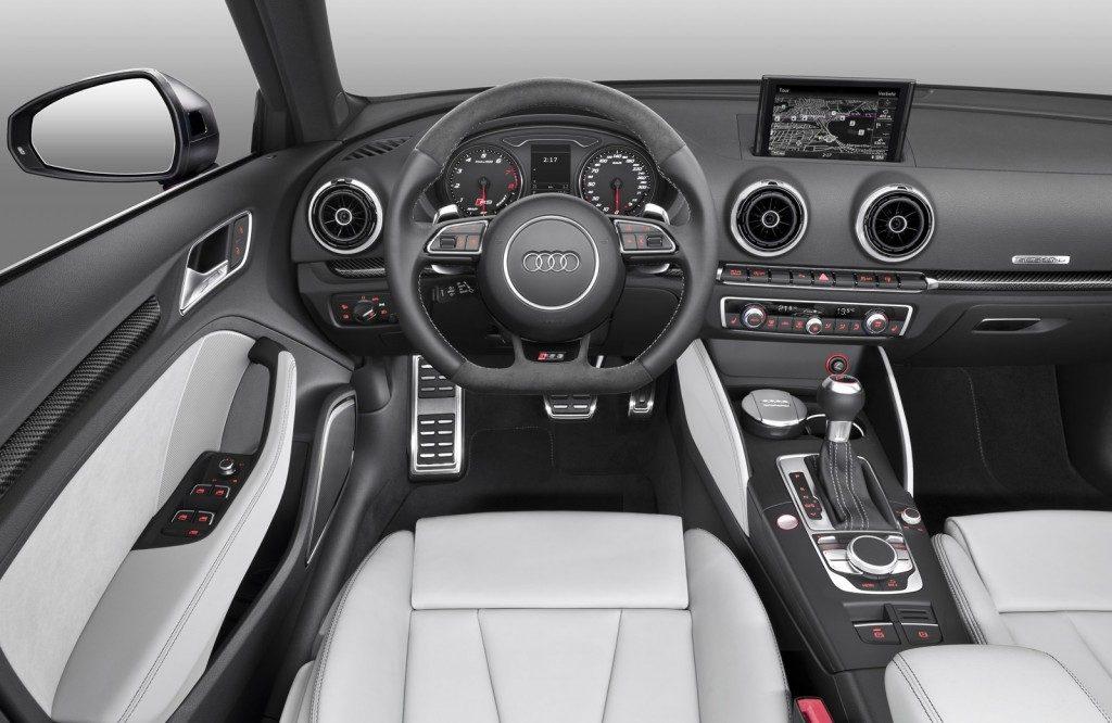 Novo Audi A3 2017 - interior