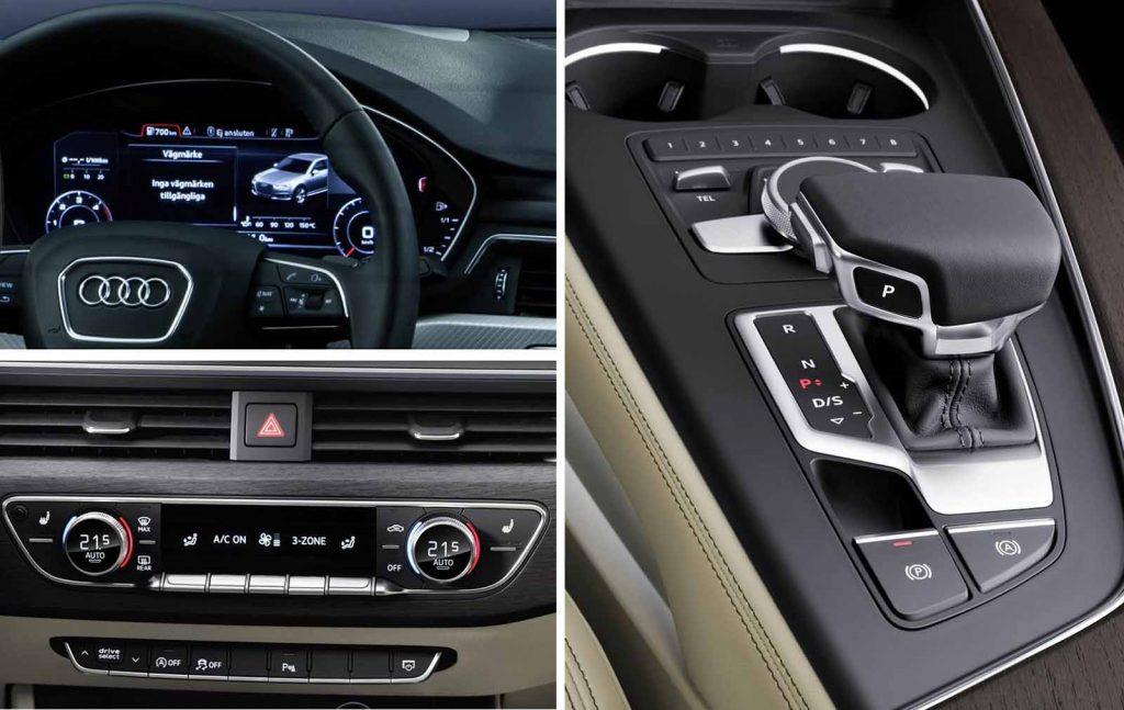 Novo Audi A4 2017 - Itens de série