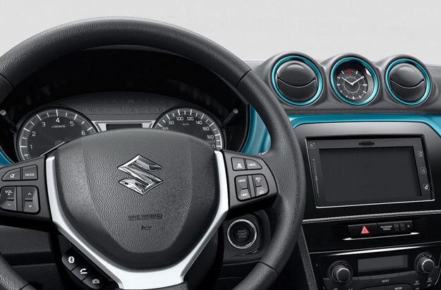 Suzuki Vitara 2017 - por dentro, painel