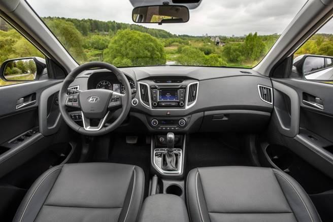 Novo Hyundai Creta 2017 - interior
