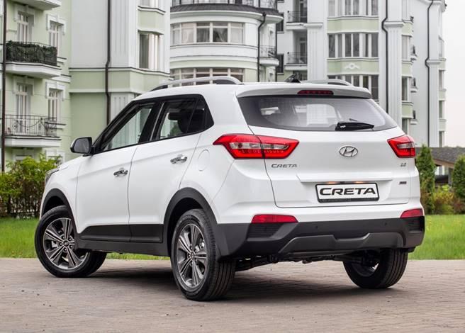 Novo Hyundai Creta 2017 - ficha técnica