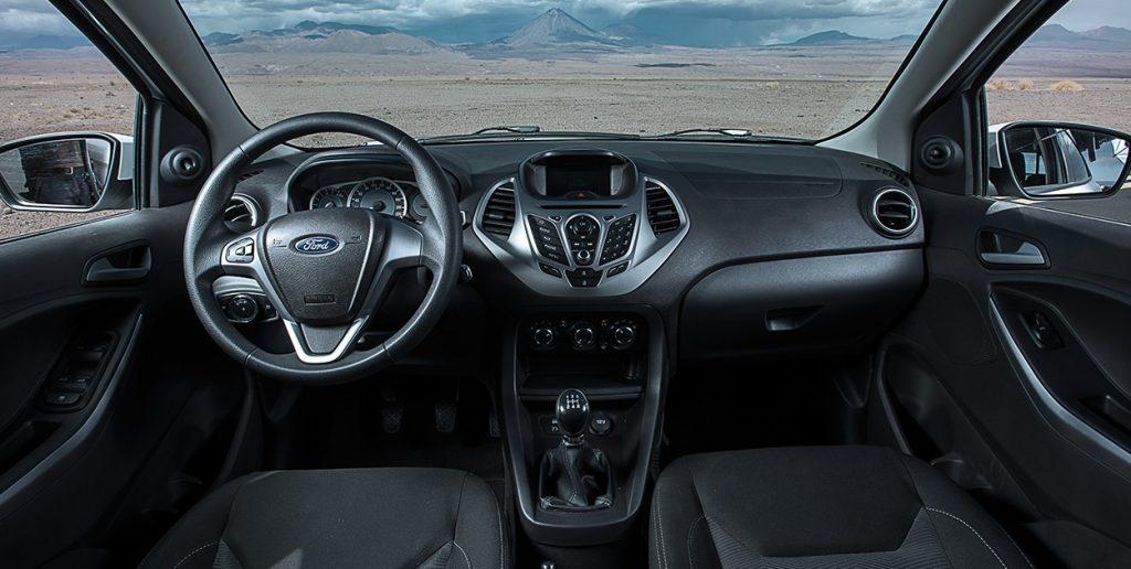 Novo Ford Ka 2018 - por dentro