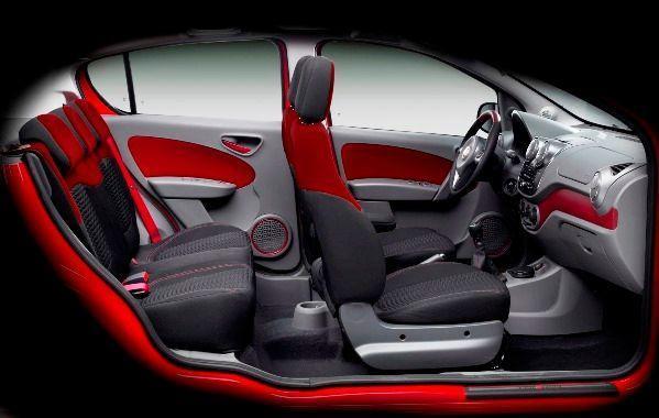 Fiat Palio 2018 - Espaço Interior