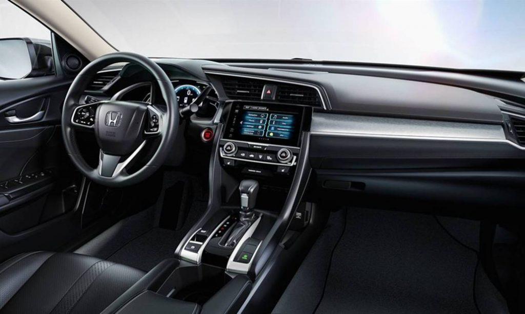 Novo Honda Civic 2018 - Intens de série