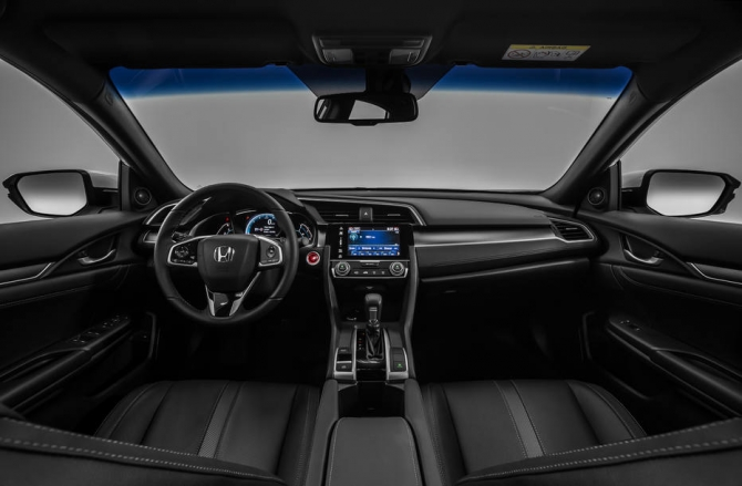 Novo Honda Civic 2018 - Interior
