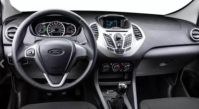 Ford Ka 2018 Sedan - Interior e itens de série