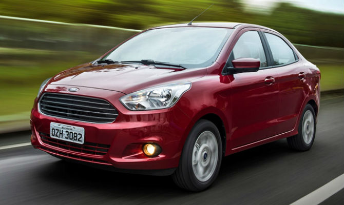 Novo Ford Ka 2018 Sedan - preços e versões