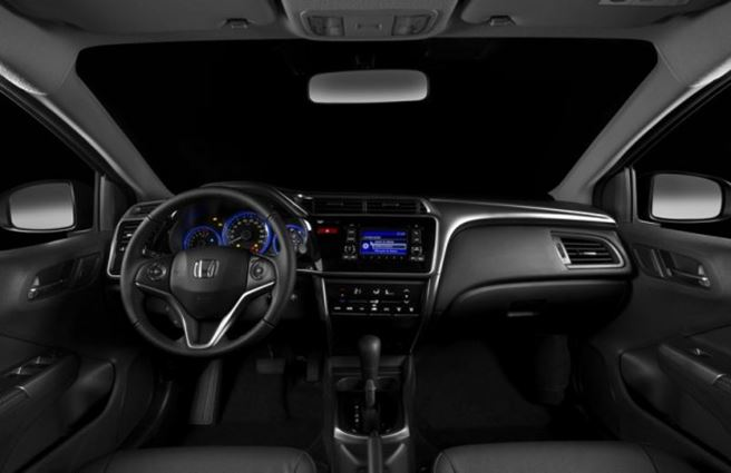Novo Honda City 2018 - interior